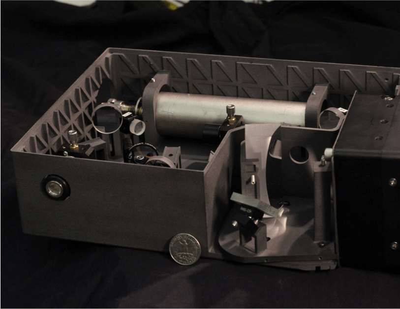 SHERLOC instrument breadboard