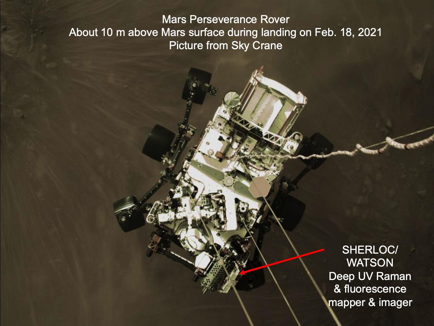 Rover in Landing